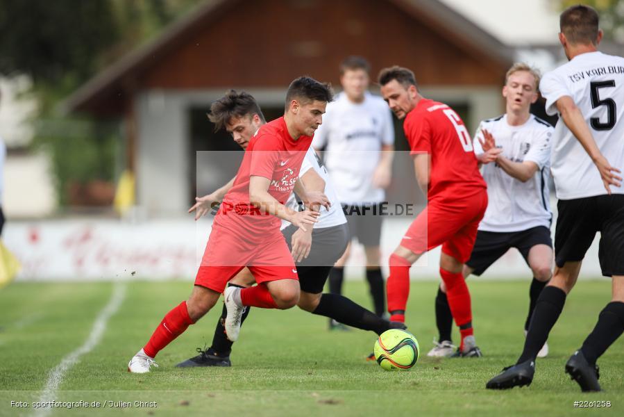 Michael Wolff, Artur Jurkin, 22.09.2019, Kreisliga Würzburg, FV Gemünden/Seifriedsburg, TSV Karlburg II - Bild-ID: 2261258