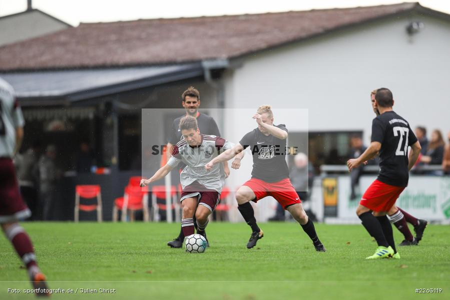Yannik Hörning, Jan Vogt, Kreisliga Würzburg, 29.09.2019, SV Birkenfeld, FV Gemünden/Seifriedsburg - Bild-ID: 2263119