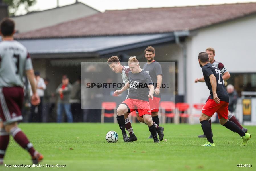 Yannik Hörning, Jan Vogt, Kreisliga Würzburg, 29.09.2019, SV Birkenfeld, FV Gemünden/Seifriedsburg - Bild-ID: 2263121