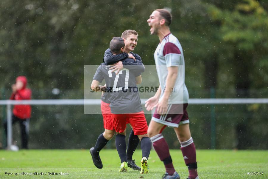 Markus Mjalov, Atilla Aydogdu, Kreisliga Würzburg, 29.09.2019, SV Birkenfeld, FV Gemünden/Seifriedsburg - Bild-ID: 2263137
