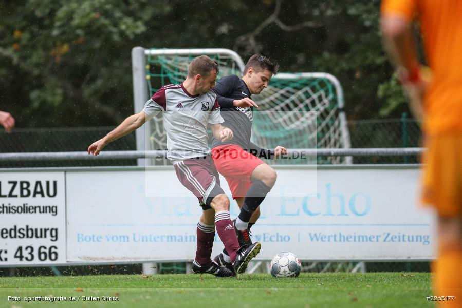 Daniel Schebler, Artur Jurkin, Kreisliga Würzburg, 29.09.2019, SV Birkenfeld, FV Gemünden/Seifriedsburg - Bild-ID: 2263177