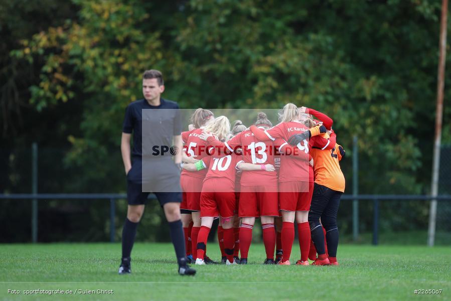 03.10.2019, Landesliga Nord Frauen, SpVgg Greuther Fürth II, FC Karsbach - Bild-ID: 2265067