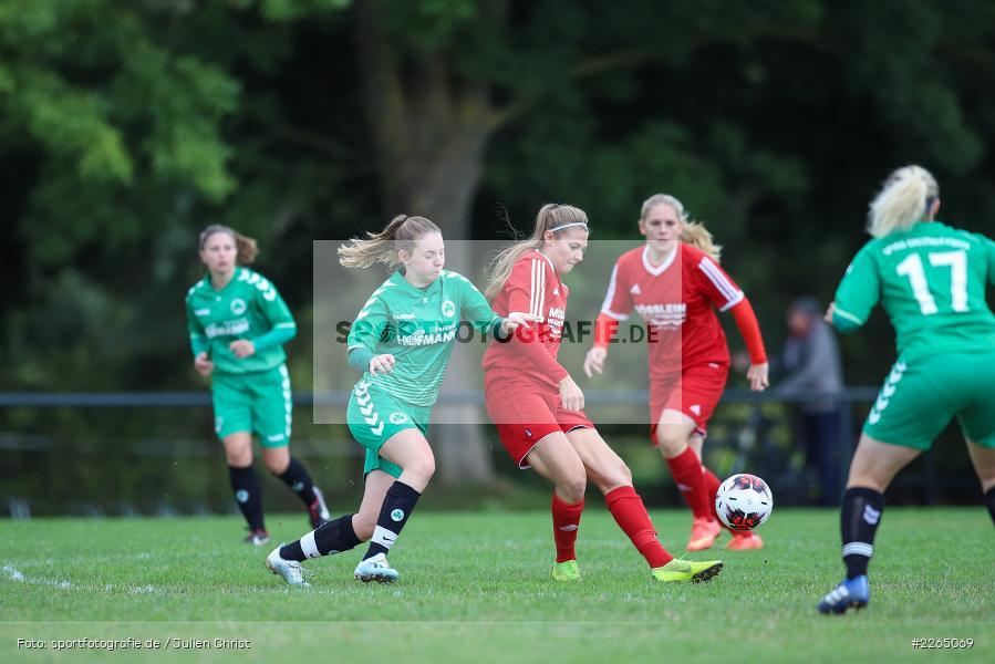 03.10.2019, Landesliga Nord Frauen, SpVgg Greuther Fürth II, FC Karsbach - Bild-ID: 2265069