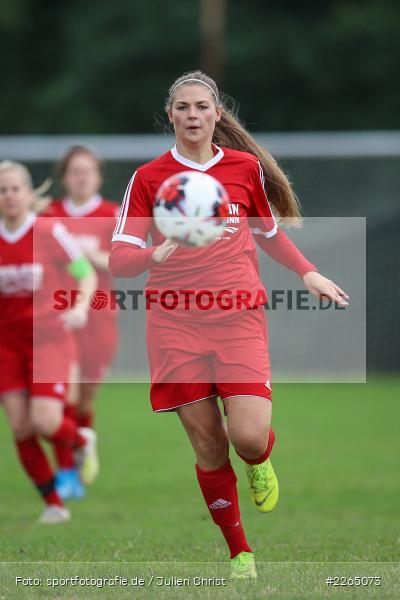 Tamira Stegmann, 03.10.2019, Landesliga Nord Frauen, SpVgg Greuther Fürth II, FC Karsbach - Bild-ID: 2265073