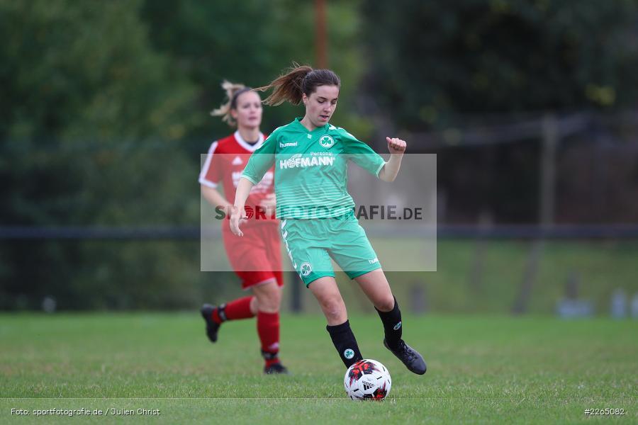 03.10.2019, Landesliga Nord Frauen, SpVgg Greuther Fürth II, FC Karsbach - Bild-ID: 2265082