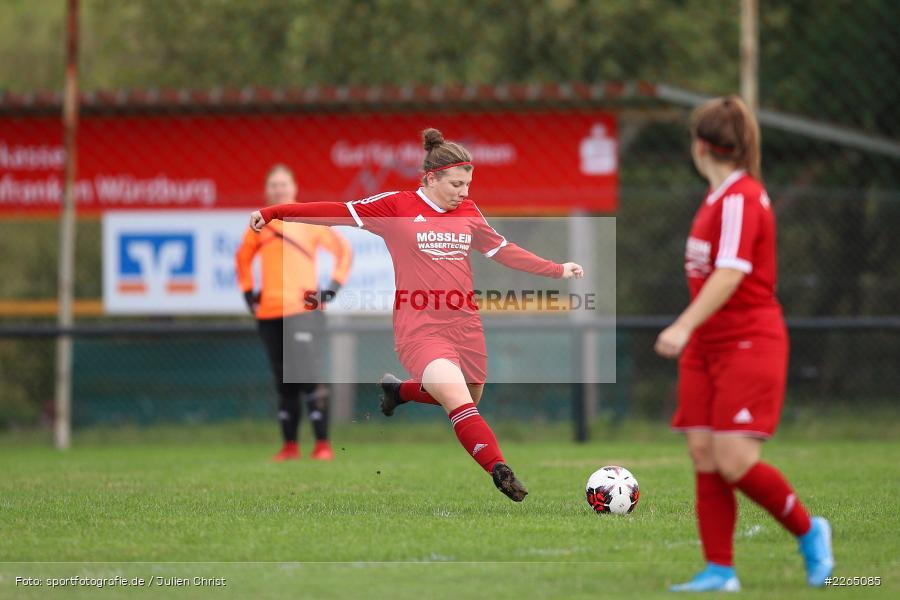 Laura Rosenberger, 03.10.2019, Landesliga Nord Frauen, SpVgg Greuther Fürth II, FC Karsbach - Bild-ID: 2265085