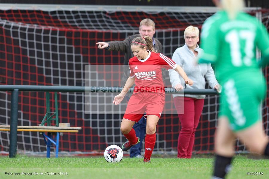 03.10.2019, Landesliga Nord Frauen, SpVgg Greuther Fürth II, FC Karsbach - Bild-ID: 2265089