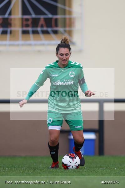 Jasmina Carosella, 03.10.2019, Landesliga Nord Frauen, SpVgg Greuther Fürth II, FC Karsbach - Bild-ID: 2265093