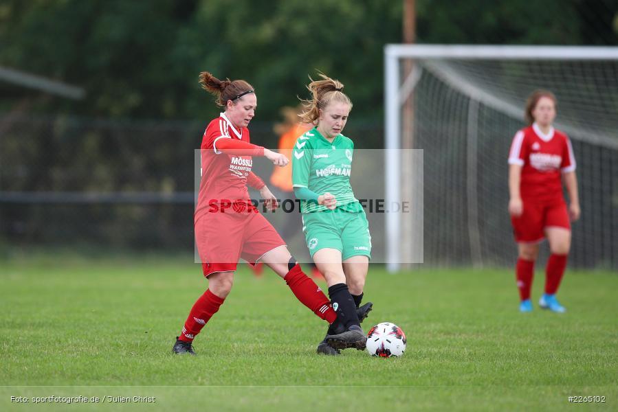 Amanda Sulewski, Angelina Müller, 03.10.2019, Landesliga Nord Frauen, SpVgg Greuther Fürth II, FC Karsbach - Bild-ID: 2265102