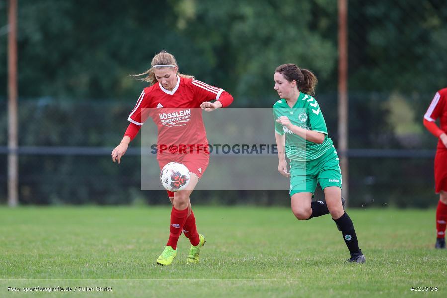 Lena Sponsel, Tamira Stegmann, 03.10.2019, Landesliga Nord Frauen, SpVgg Greuther Fürth II, FC Karsbach - Bild-ID: 2265108