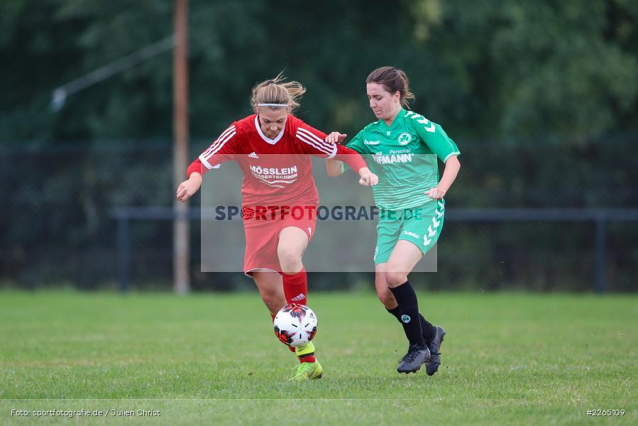 Lena Sponsel, Tamira Stegmann, 03.10.2019, Landesliga Nord Frauen, SpVgg Greuther Fürth II, FC Karsbach - Bild-ID: 2265109