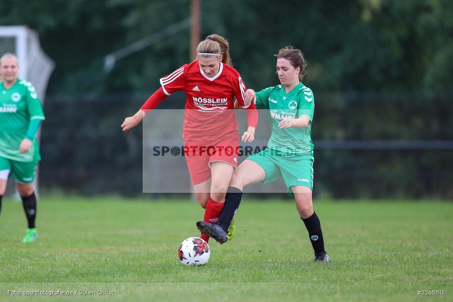 Lena Sponsel, Tamira Stegmann, 03.10.2019, Landesliga Nord Frauen, SpVgg Greuther Fürth II, FC Karsbach - Bild-ID: 2265110