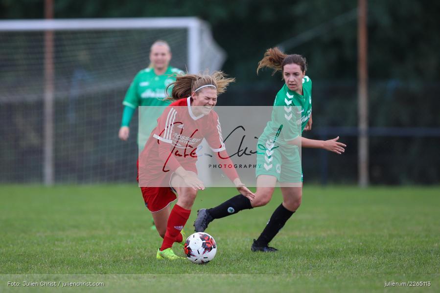 Lena Sponsel, Tamira Stegmann, 03.10.2019, Landesliga Nord Frauen, SpVgg Greuther Fürth II, FC Karsbach - Bild-ID: 2265113
