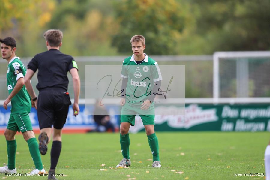 Philipp Küppers, 03.10.2019, U19 Bezirksoberliga, (SG) TuS Frammersbach, (SG) FV Karlstadt - Bild-ID: 2265208