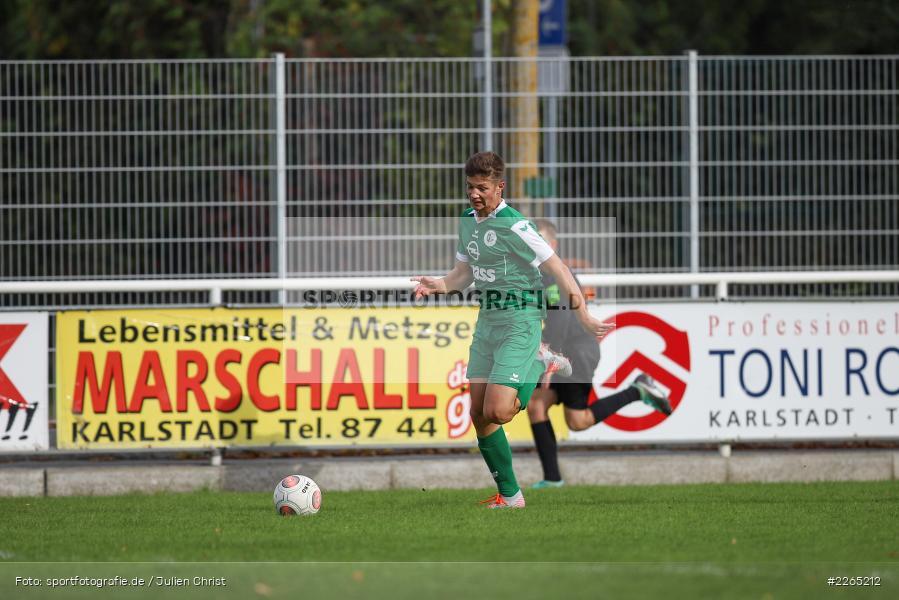 Jan Maiberger, 03.10.2019, U19 Bezirksoberliga, (SG) TuS Frammersbach, (SG) FV Karlstadt - Bild-ID: 2265212