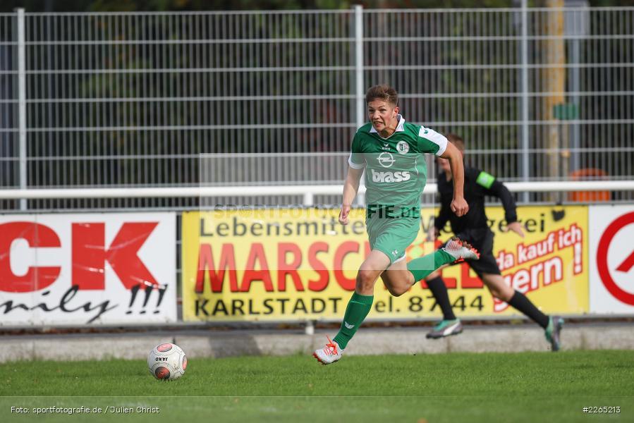 Jan Maiberger, 03.10.2019, U19 Bezirksoberliga, (SG) TuS Frammersbach, (SG) FV Karlstadt - Bild-ID: 2265213