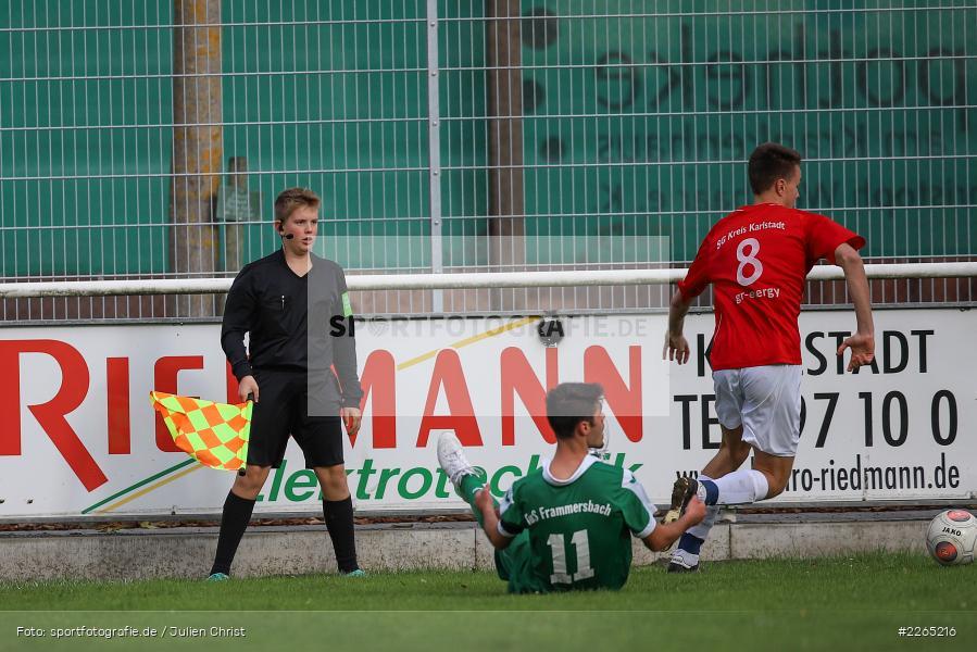 Severin Redweik, 03.10.2019, U19 Bezirksoberliga, (SG) TuS Frammersbach, (SG) FV Karlstadt - Bild-ID: 2265216