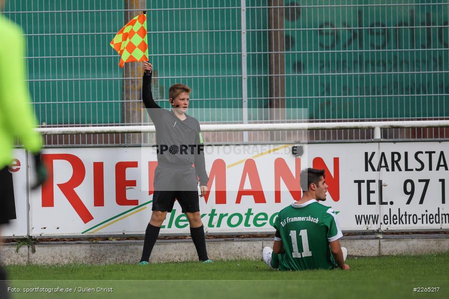 Severin Redweik, 03.10.2019, U19 Bezirksoberliga, (SG) TuS Frammersbach, (SG) FV Karlstadt - Bild-ID: 2265217