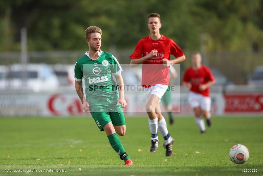 Toni Vogel, 03.10.2019, U19 Bezirksoberliga, (SG) TuS Frammersbach, (SG) FV Karlstadt - Bild-ID: 2265220