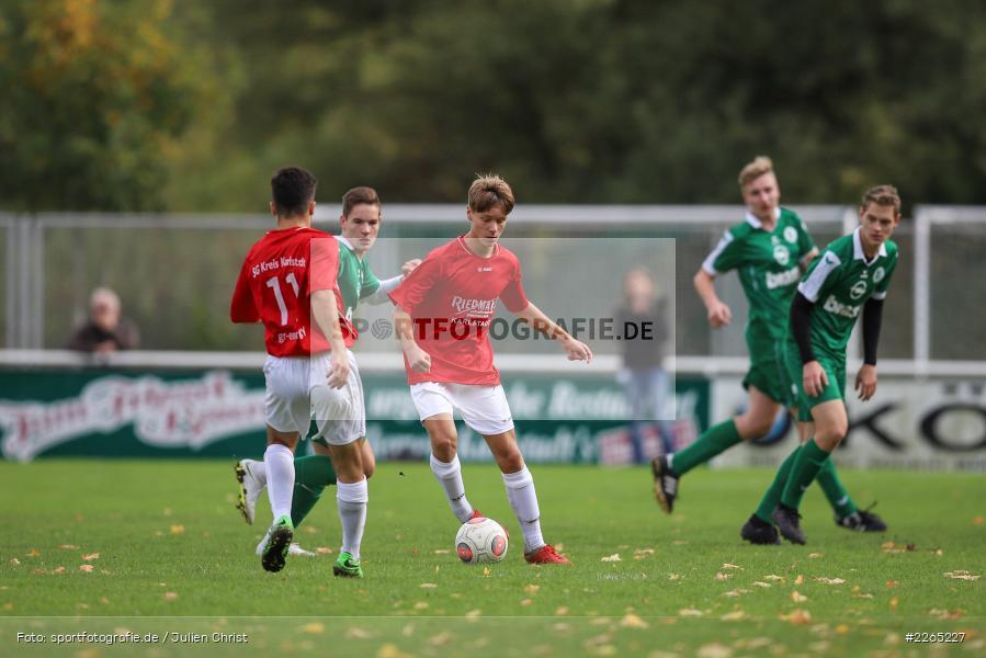 Max Krug, 03.10.2019, U19 Bezirksoberliga, (SG) TuS Frammersbach, (SG) FV Karlstadt - Bild-ID: 2265227