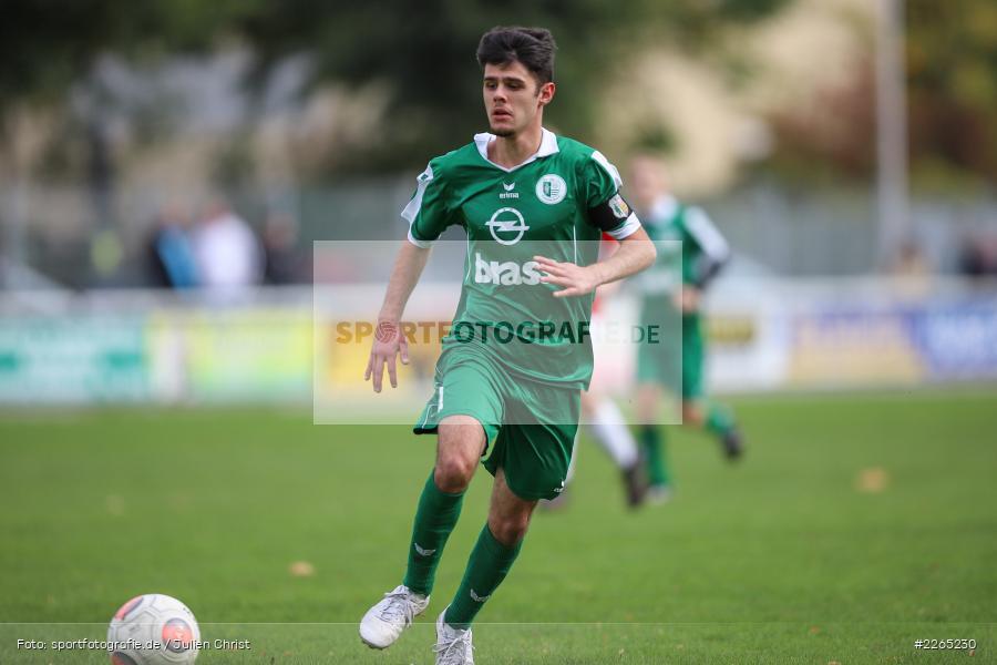 Kilian Blenk, 03.10.2019, U19 Bezirksoberliga, (SG) TuS Frammersbach, (SG) FV Karlstadt - Bild-ID: 2265230