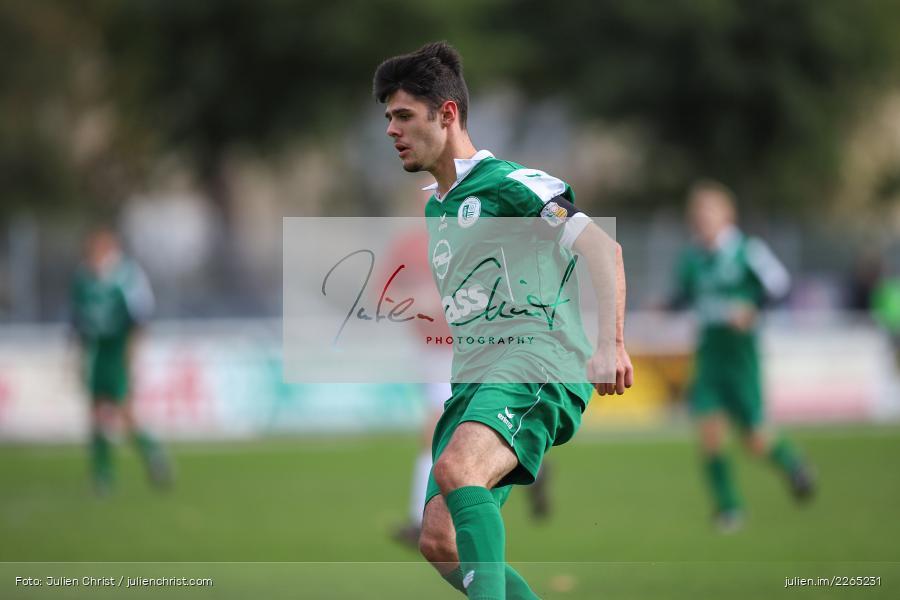Kilian Blenk, 03.10.2019, U19 Bezirksoberliga, (SG) TuS Frammersbach, (SG) FV Karlstadt - Bild-ID: 2265231