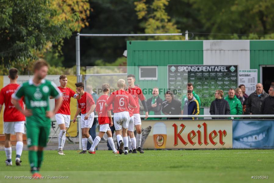 Max Lambrecht, 03.10.2019, U19 Bezirksoberliga, (SG) TuS Frammersbach, (SG) FV Karlstadt - Bild-ID: 2265242