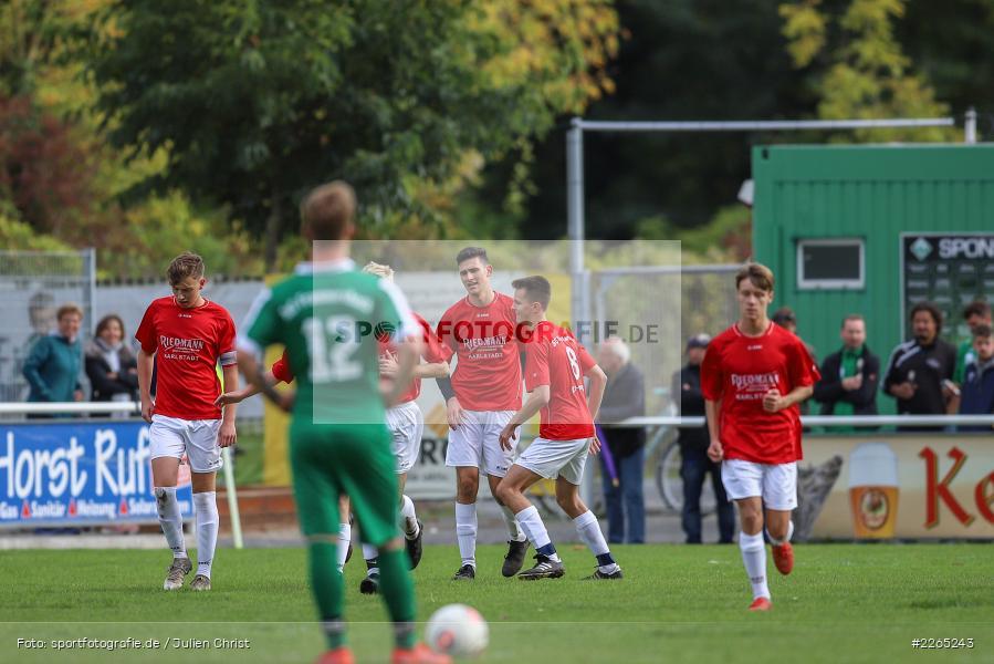 Max Lambrecht, 03.10.2019, U19 Bezirksoberliga, (SG) TuS Frammersbach, (SG) FV Karlstadt - Bild-ID: 2265243