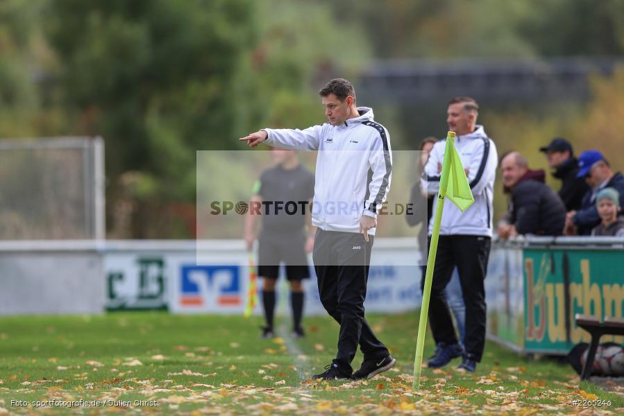 Markus Zimmermann, Jürgen Csapo, 03.10.2019, U19 Bezirksoberliga, (SG) TuS Frammersbach, (SG) FV Karlstadt - Bild-ID: 2265246