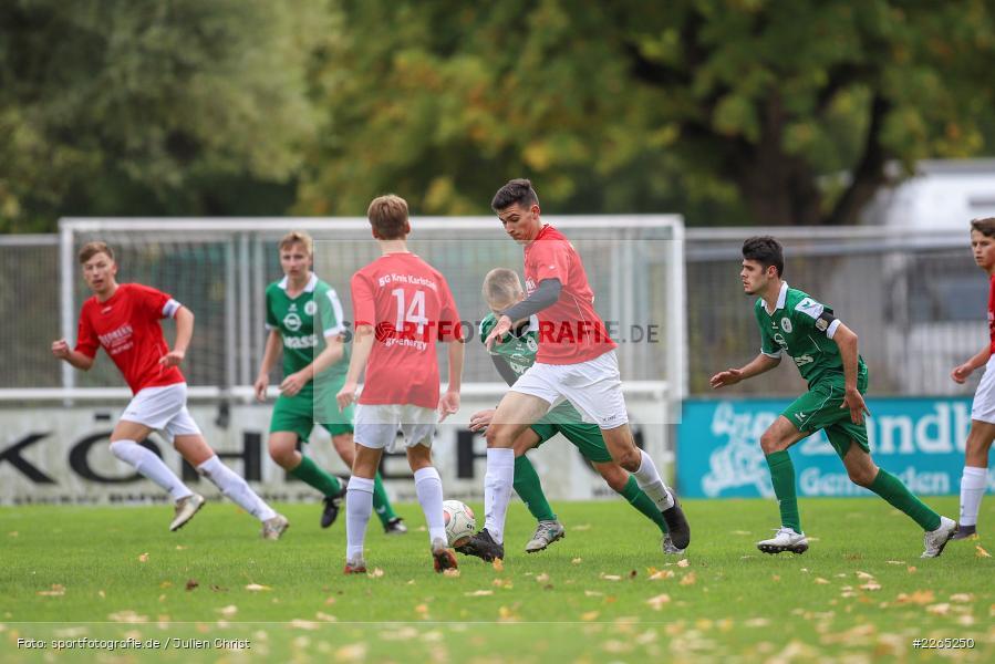 Max Lambrecht, 03.10.2019, U19 Bezirksoberliga, (SG) TuS Frammersbach, (SG) FV Karlstadt - Bild-ID: 2265250