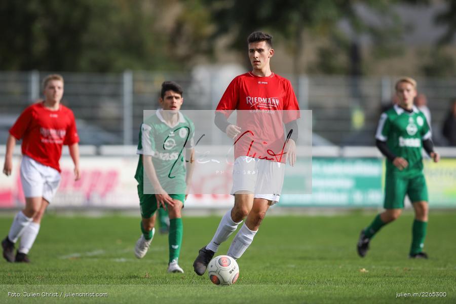Max Lambrecht, 03.10.2019, U19 Bezirksoberliga, (SG) TuS Frammersbach, (SG) FV Karlstadt - Bild-ID: 2265300