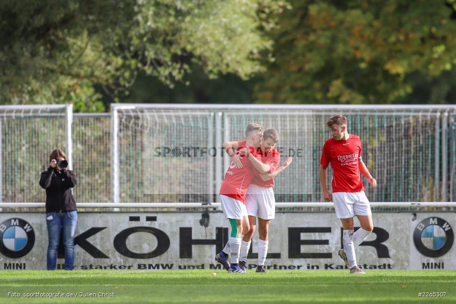 Jakob Fischer, 03.10.2019, U19 Bezirksoberliga, (SG) TuS Frammersbach, (SG) FV Karlstadt - Bild-ID: 2265307