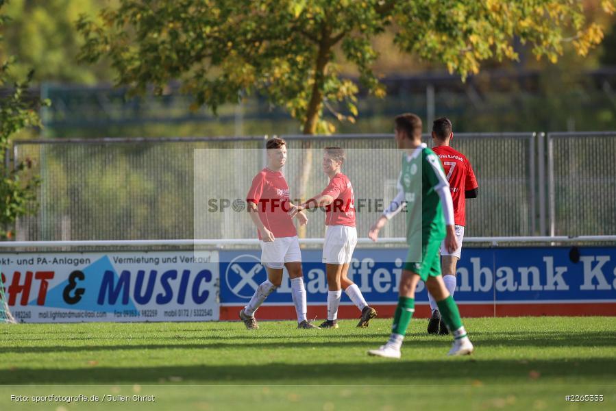 Jakob Fischer, 03.10.2019, U19 Bezirksoberliga, (SG) TuS Frammersbach, (SG) FV Karlstadt - Bild-ID: 2265333
