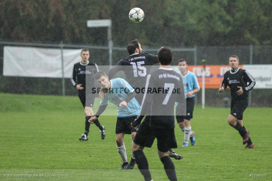 Christian Bauer, Julian Golz, 06.10.2019, Kreisliga Würzburg, FV 05 Helmstadt, SV Altfeld - Bild-ID: 2266205