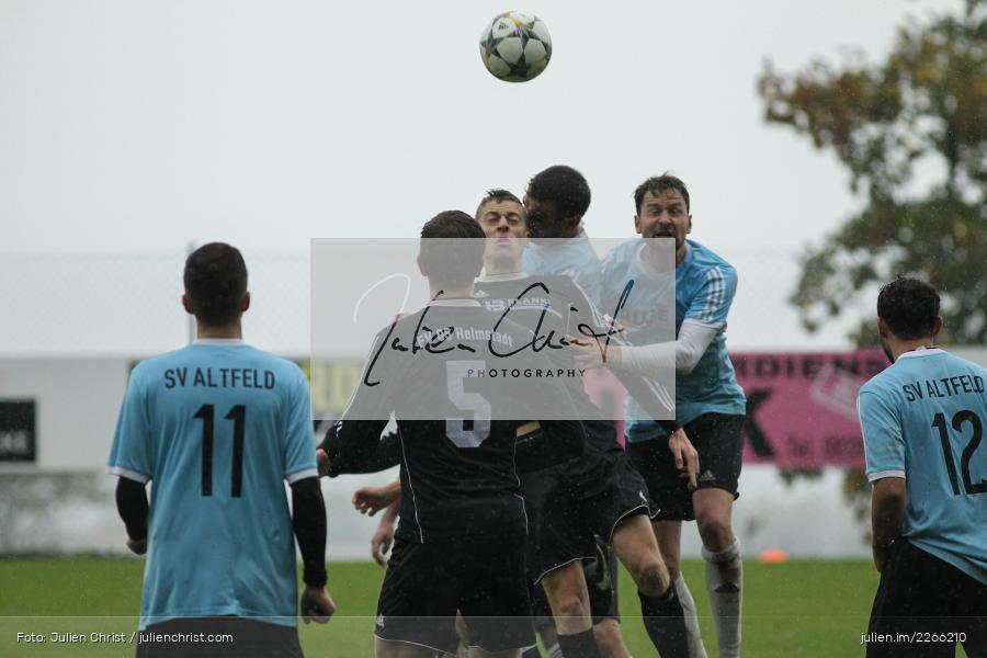 Simon Martin, Christopher Gebert, Tobias Wießmann, 06.10.2019, Kreisliga Würzburg, FV 05 Helmstadt, SV Altfeld - Bild-ID: 2266210