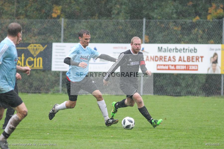 Benjamin Langguth, Matthias Hauser, 06.10.2019, Kreisliga Würzburg, FV 05 Helmstadt, SV Altfeld - Bild-ID: 2266228