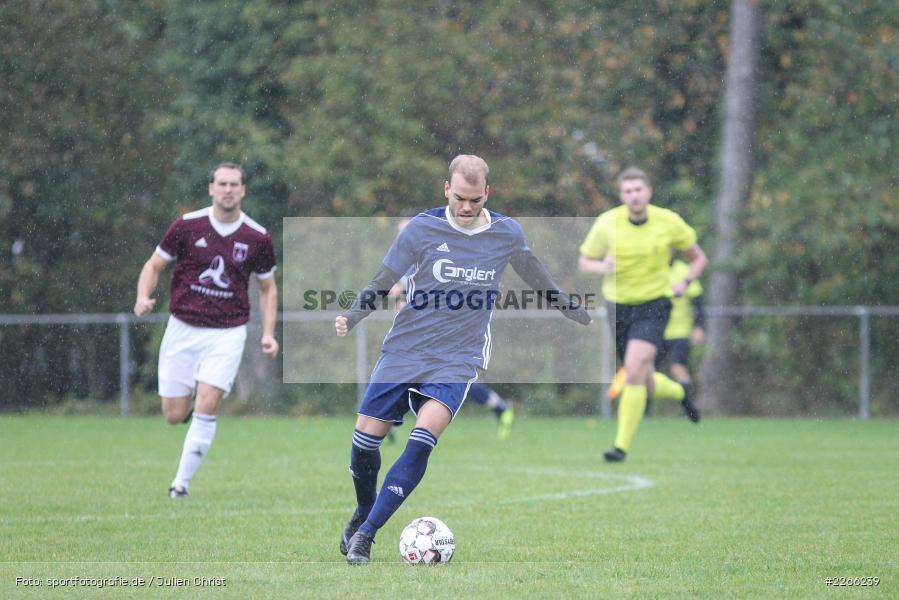 Pascal Beck, Kreisliga TBB, 06.10.2019, TSV Gerchsheim, Kickers DHK Wertheim - Bild-ID: 2266239