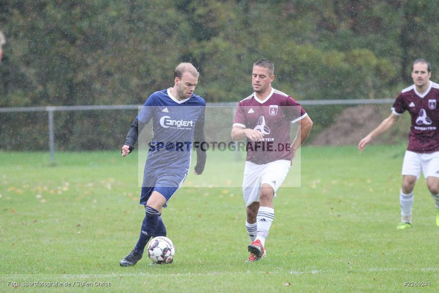 Patrick Kospach, Pascal Beck, Kreisliga TBB, 06.10.2019, TSV Gerchsheim, Kickers DHK Wertheim - Bild-ID: 2266241