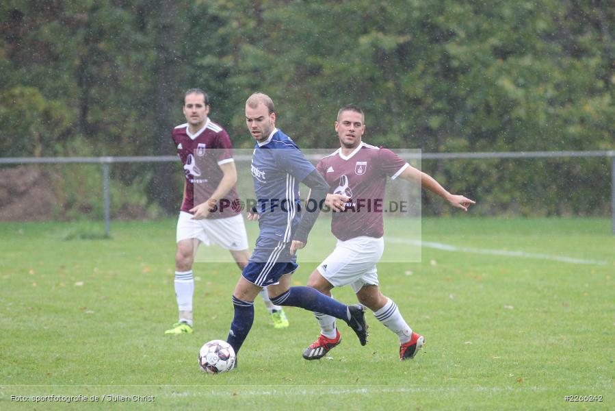 Patrick Kospach, Pascal Beck, Kreisliga TBB, 06.10.2019, TSV Gerchsheim, Kickers DHK Wertheim - Bild-ID: 2266242