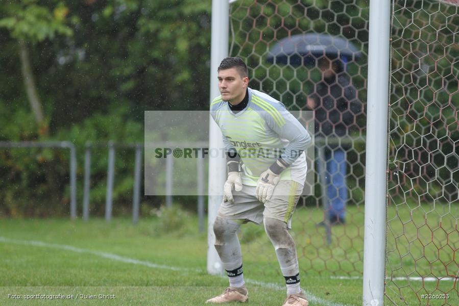 Jonas Drach, Kreisliga TBB, 06.10.2019, TSV Gerchsheim, Kickers DHK Wertheim - Bild-ID: 2266253
