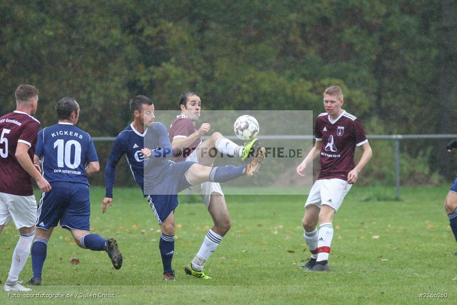 Christoph Landeck, Timo Maier, Kreisliga TBB, 06.10.2019, TSV Gerchsheim, Kickers DHK Wertheim - Bild-ID: 2266260