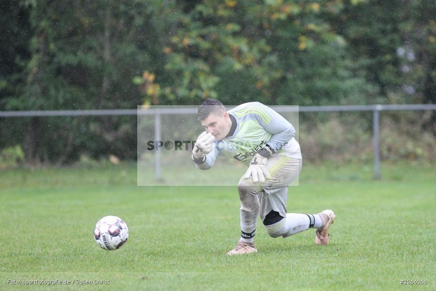 Jonas Drach, Kreisliga TBB, 06.10.2019, TSV Gerchsheim, Kickers DHK Wertheim - Bild-ID: 2266266
