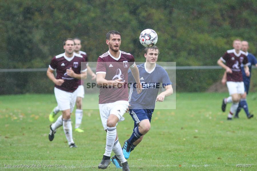 Sebastian Kippes, Andreas Henneberger, Kreisliga TBB, 06.10.2019, TSV Gerchsheim, Kickers DHK Wertheim - Bild-ID: 2266273