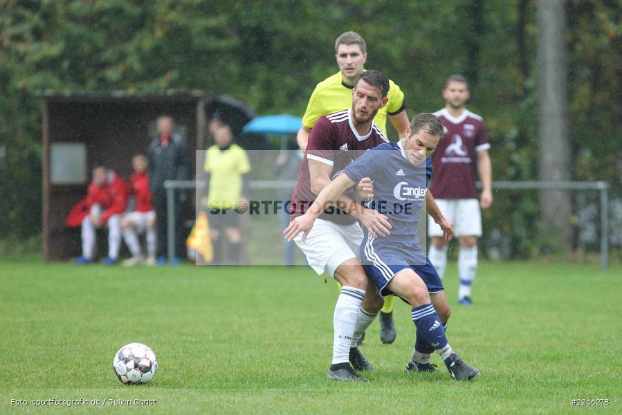 Dirk Schmidt, Andreas Henneberger, Kreisliga TBB, 06.10.2019, TSV Gerchsheim, Kickers DHK Wertheim - Bild-ID: 2266278