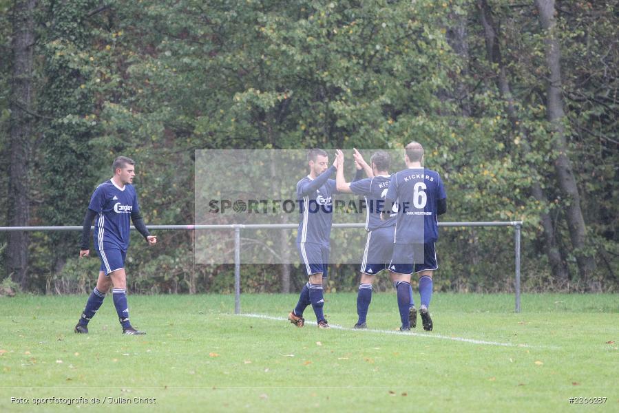 Timo Maier, Kreisliga TBB, 06.10.2019, TSV Gerchsheim, Kickers DHK Wertheim - Bild-ID: 2266287