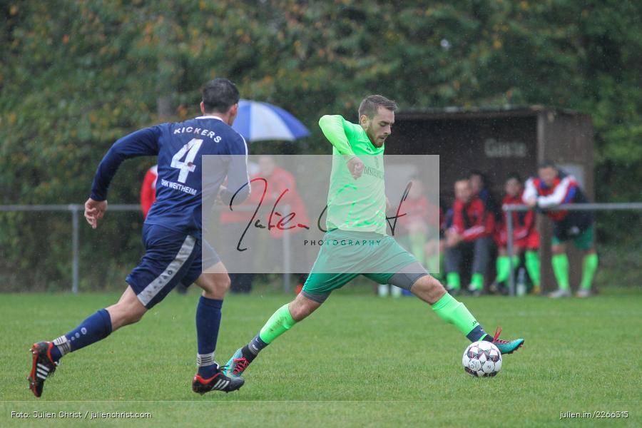 Nils Schröck, Nils Lotter, 06.10.2019, Kreisliga B TBB, SpG TSV Dittwar/FC Heckfeld, Kickers DHK Wertheim 2 - Bild-ID: 2266315