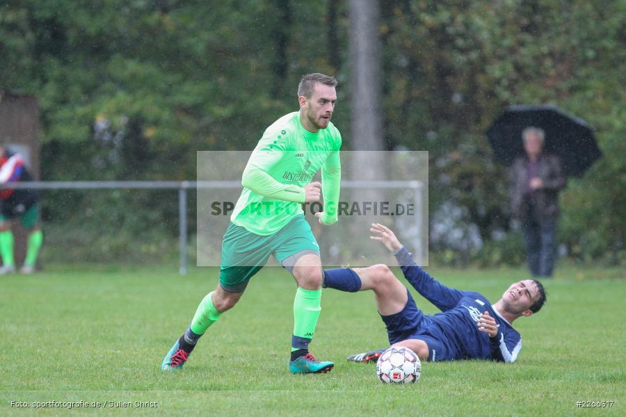 Nils Schröck, Nils Lotter, 06.10.2019, Kreisliga B TBB, SpG TSV Dittwar/FC Heckfeld, Kickers DHK Wertheim 2 - Bild-ID: 2266317