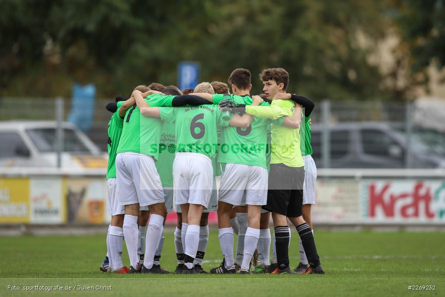 Mannschaftskreis, 19.10.2019, U19 Bezirksoberliga Unterfranken, (SG) TSV/DJK Wiesentheid, (SG) FV Karlstadt - Bild-ID: 2269232