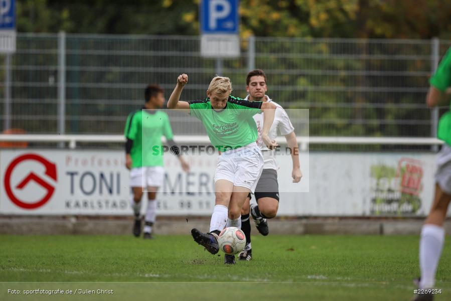 Mika Beckert, 19.10.2019, U19 Bezirksoberliga Unterfranken, (SG) TSV/DJK Wiesentheid, (SG) FV Karlstadt - Bild-ID: 2269234