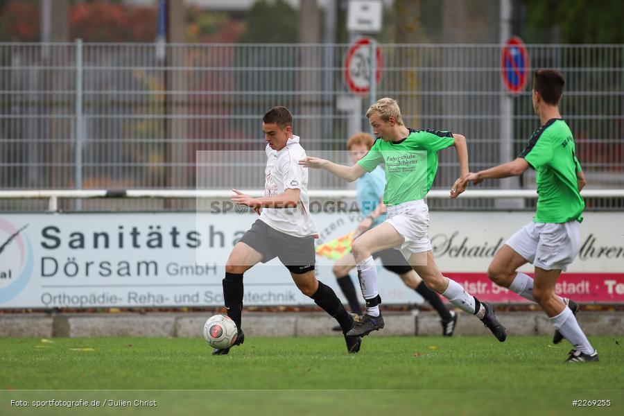 Alexander Knaub, 19.10.2019, U19 Bezirksoberliga Unterfranken, (SG) TSV/DJK Wiesentheid, (SG) FV Karlstadt - Bild-ID: 2269255